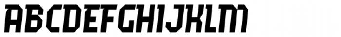 Fierro Italic Font UPPERCASE
