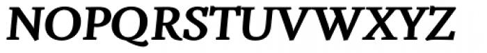 Fiesole Caption Black Italic Font UPPERCASE