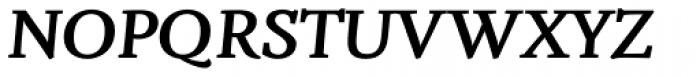 Fiesole Caption Heavy Italic Font UPPERCASE