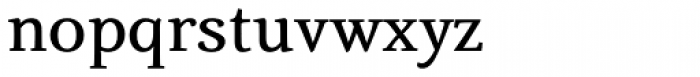 Fiesole Display Bold Font LOWERCASE