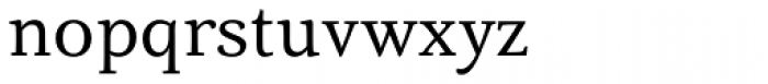 Fiesole Display Font LOWERCASE