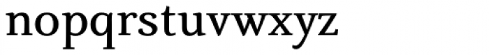 Fiesole Text Bold Font LOWERCASE