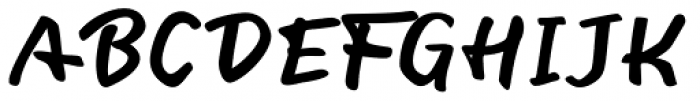 Fiest Script Font UPPERCASE
