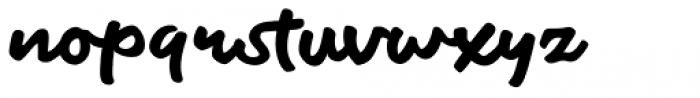 Fiest Script Font LOWERCASE
