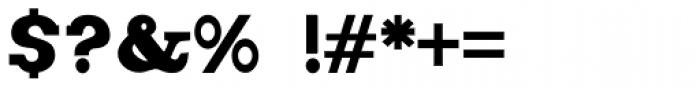 Figgins Brute Complete Font OTHER CHARS