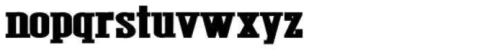 Figgins Brute Complete Font LOWERCASE