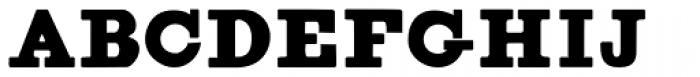 Figgins Brute Font UPPERCASE