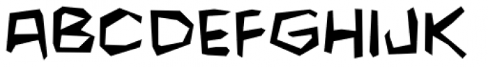 Fighting Words Font LOWERCASE