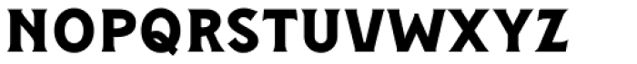 Figuera Variable Bold Condensed Font LOWERCASE