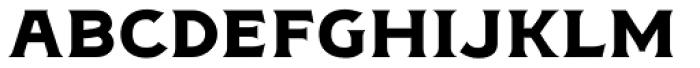 Figuera Variable Bold Semi Extended Font LOWERCASE