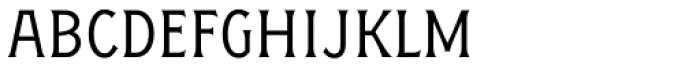 Figuera Variable Light Condensed Font LOWERCASE