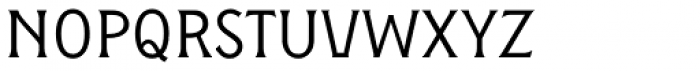 Figuera Variable Light Semi Condensed Font LOWERCASE