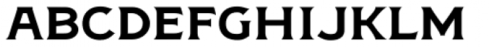 Figuera Variable Regular Extended Font LOWERCASE