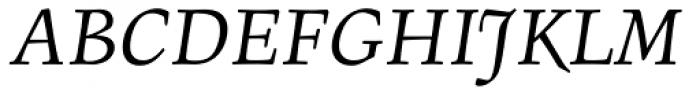 Figural Book Italic Font UPPERCASE