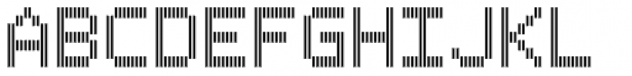 Filament Bold Double Font UPPERCASE