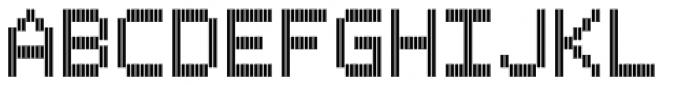 Filament ExtraBold Double Font UPPERCASE