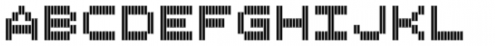 Filament ExtraBold Double Font LOWERCASE