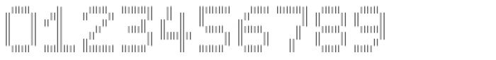 Filament Regular Double Font OTHER CHARS