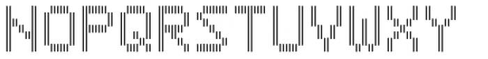 Filament SemiBold Double Font UPPERCASE