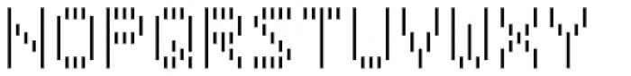 Filament SemiBold Font UPPERCASE