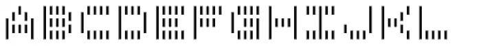 Filament SemiBold Font LOWERCASE