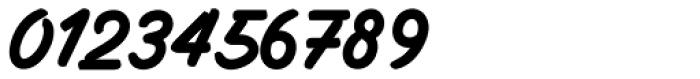 Filbert Brush Caps Font OTHER CHARS