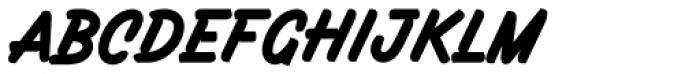 Filbert Brush Caps Font LOWERCASE