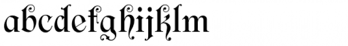 Filibuster NF Font LOWERCASE