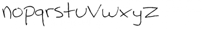 Fill Meijer Font LOWERCASE