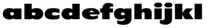 Filmotype Ford Font LOWERCASE