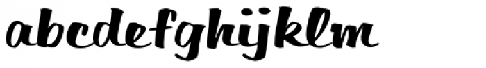 Filmotype Harvard Font LOWERCASE