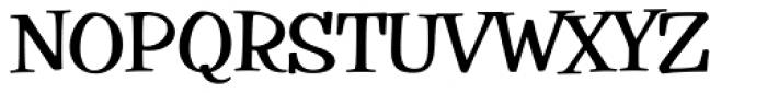 Filmotype Parade Condensed Bold Font UPPERCASE