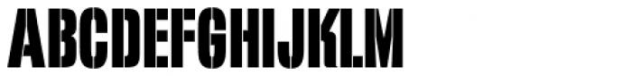 Filmotype Quiet Font LOWERCASE