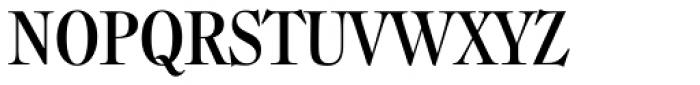 Filmotype Royal Cond Font UPPERCASE