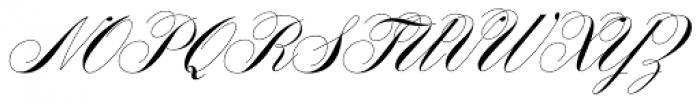 Filmotype Yale Font UPPERCASE