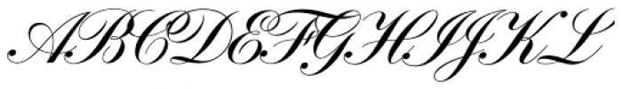 Filmotype Zeal Font UPPERCASE