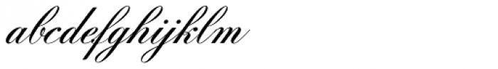 Filmotype Zeal Font LOWERCASE