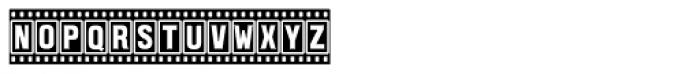 Filmstar Font UPPERCASE