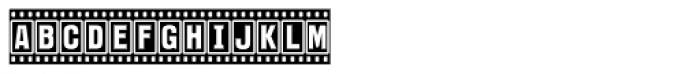 Filmstar Font LOWERCASE