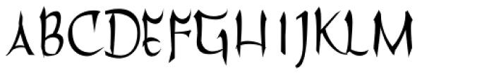 Filomena Font UPPERCASE