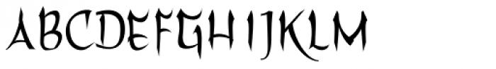 Filomena Font LOWERCASE