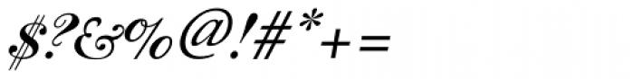 Filou Medium Font OTHER CHARS