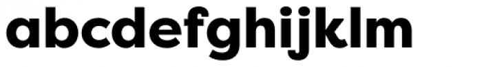 Filson Pro Heavy Font LOWERCASE