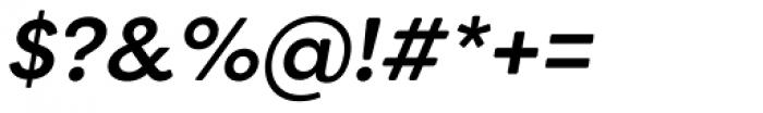 Filson Soft Medium Italic Font OTHER CHARS