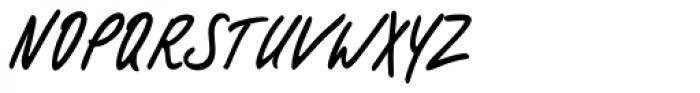 Filzerhand EF Font UPPERCASE