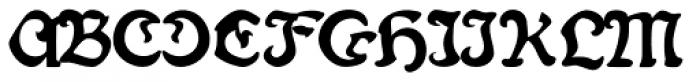 Fin Fraktur Versalete Font UPPERCASE