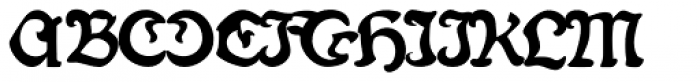 Fin Fraktur Font UPPERCASE