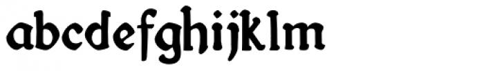 Fin Fraktur Font LOWERCASE