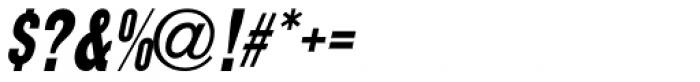 Final Edition Oblique JNL Font OTHER CHARS