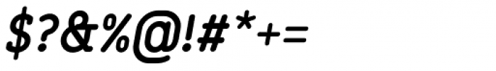Finalist Round Slab Bold Italic Font OTHER CHARS